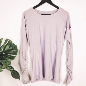 🌸Nike Dri-Fit Ruched Long Sleeve